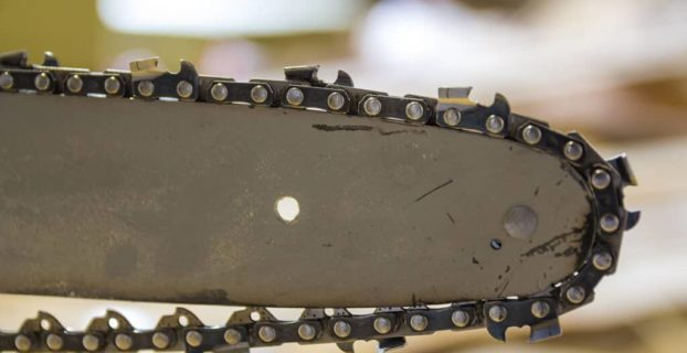 how to shorten a chainsaw chain