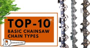 10 Top Basic Chainsaw Chain Types - A to Z Options Guide