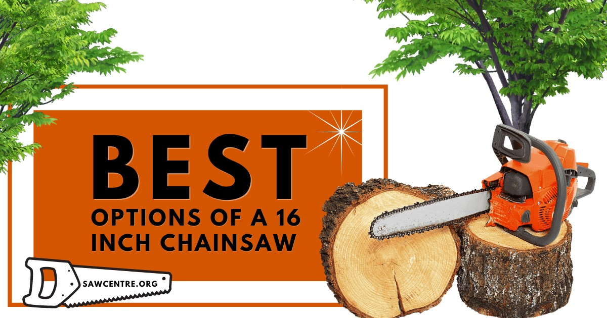 How To Choose The Best 16 Inch Chainsaw: Buying Guide