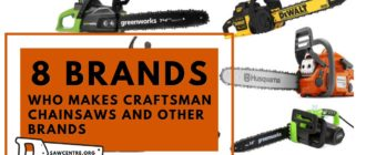 Who Makes Craftsman Chainsaws and 8 Best Other Brands